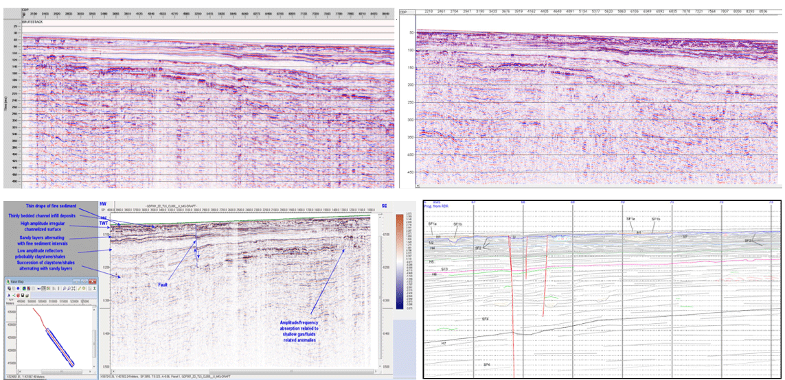 2D Ultra High Resolution QC, Processing, Interpretation steps